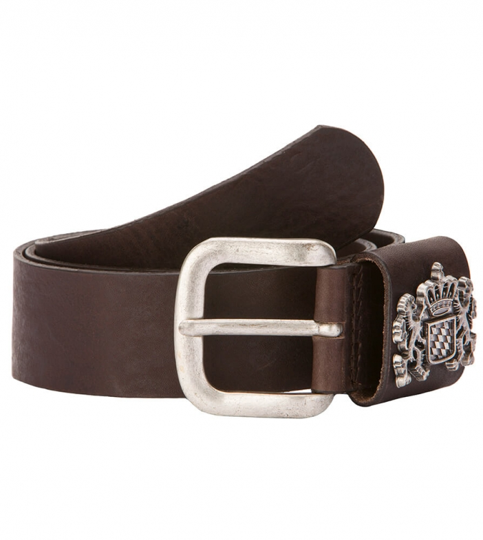 Traditional leather belt GO20490 brown