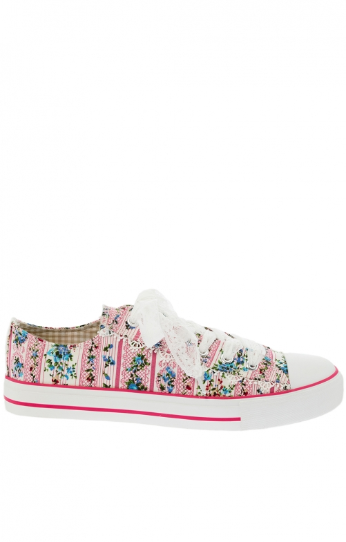 Traditionele schoen 4705-33 roze