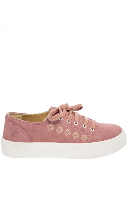 Trachten shoe D102 Ludmilla pink Crosta