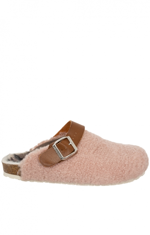 Traditional SlipperG100112 WOOLAND pink