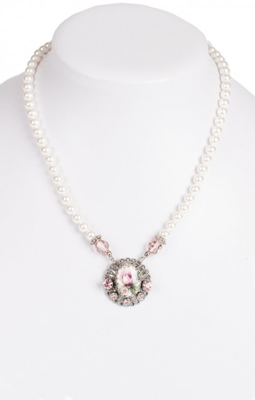 Traditional necklace 1799 rose