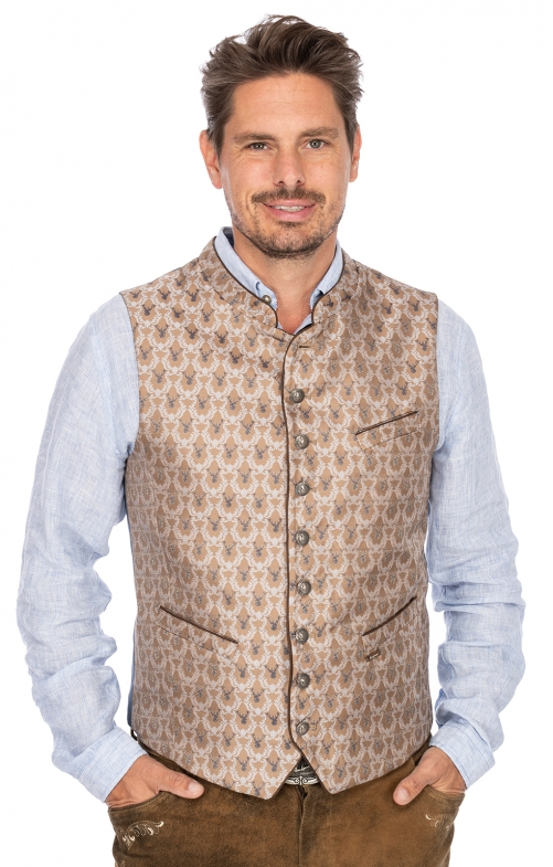 Tradition vest NEMO brown