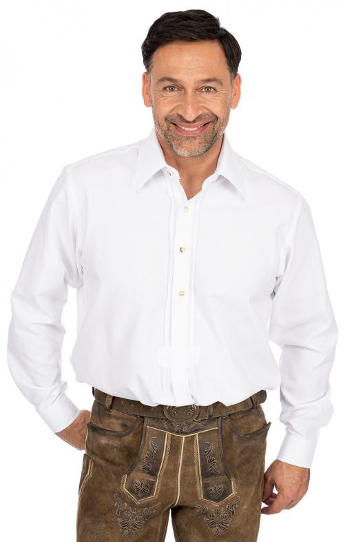 Hemd Liegenkragen LF102 weiß