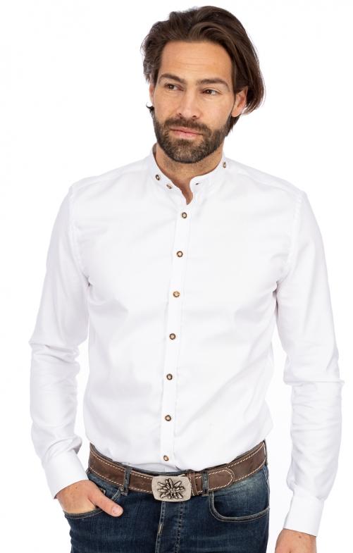 Tiroler Hemd BF 420001-3829-1 wit