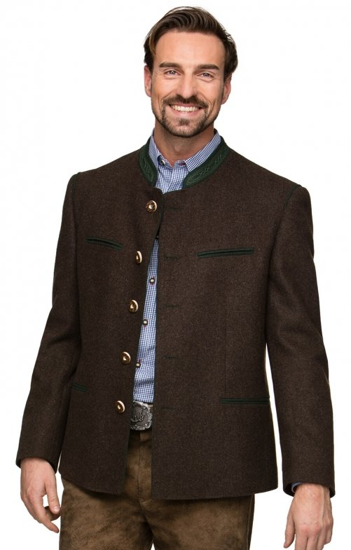 German traditional jacket STACHUS brown