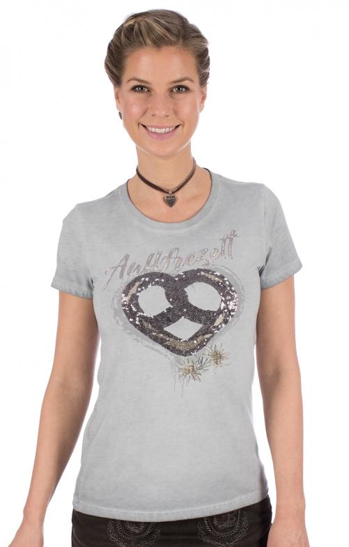 Maglietta tradizionale W05 - BREZN grigio chiaro