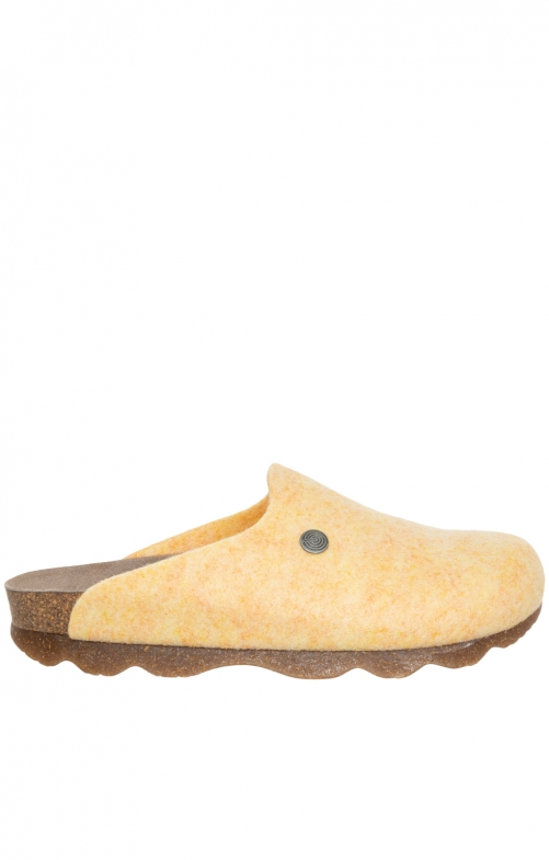 Traditional SlipperG101610 HELSINKI PETT yellow