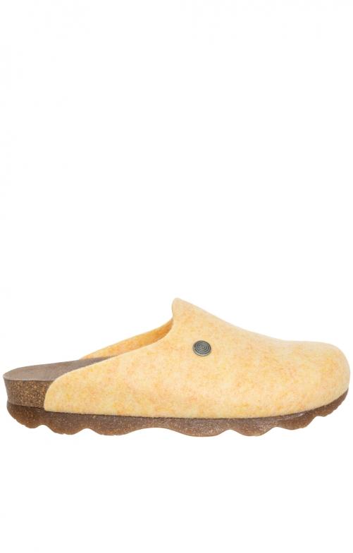 Pantoffel G101610 HELSINKI PETT gelb
