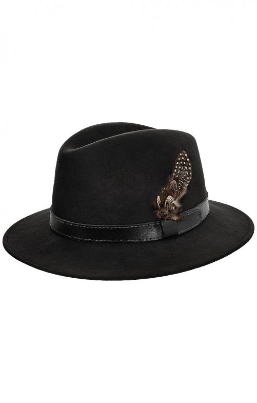 Trachtenhut 43200-1910A schwarz