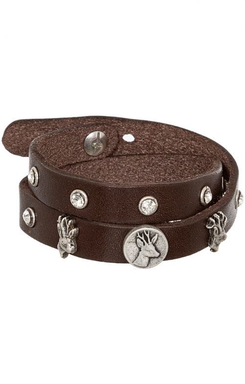 Bracelet 55103 nappa brown