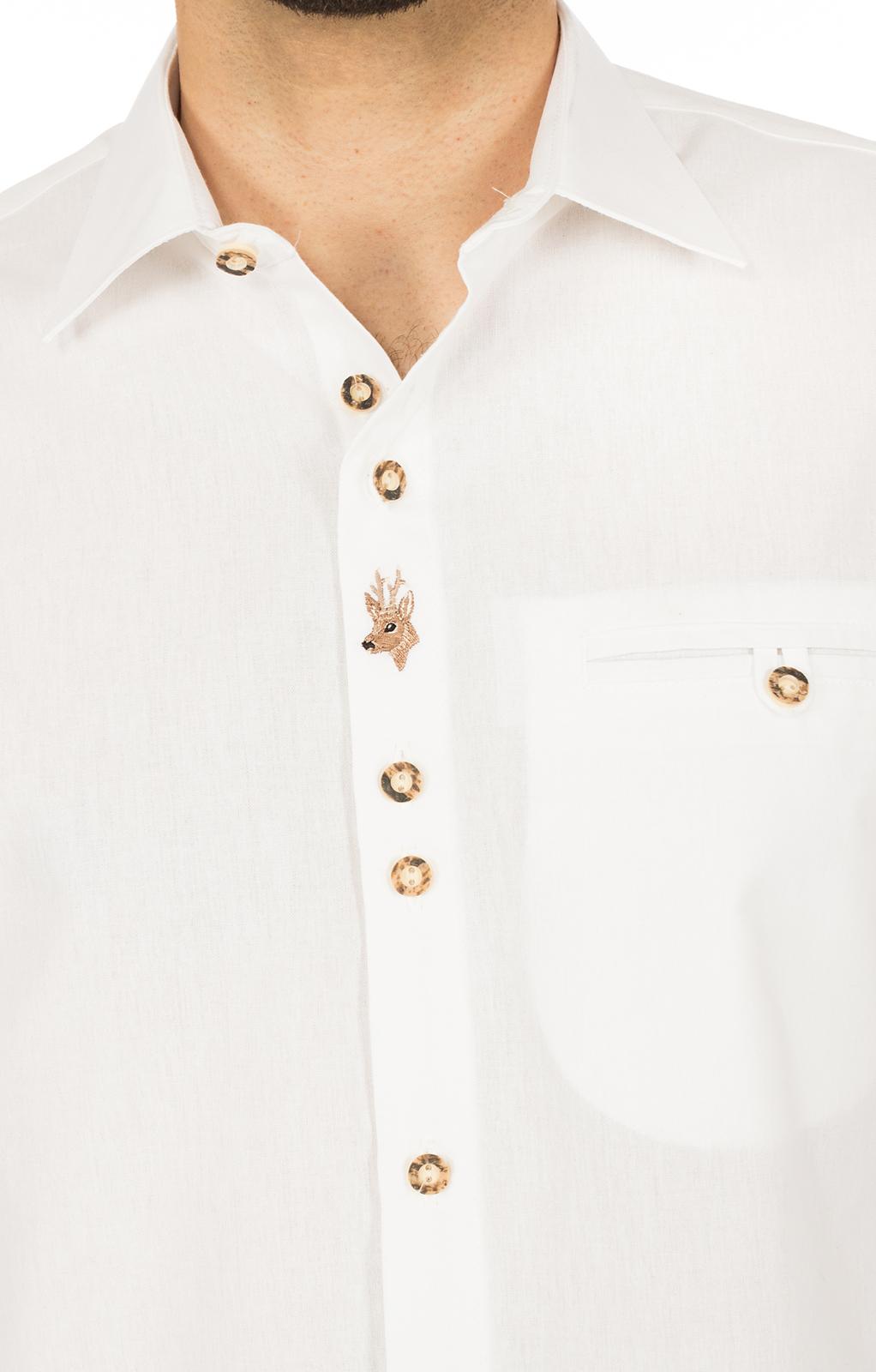 weitere Bilder von German traditional shirt white