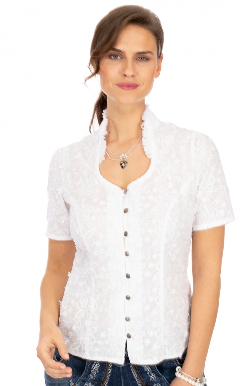 Bluse NARGES weiß
