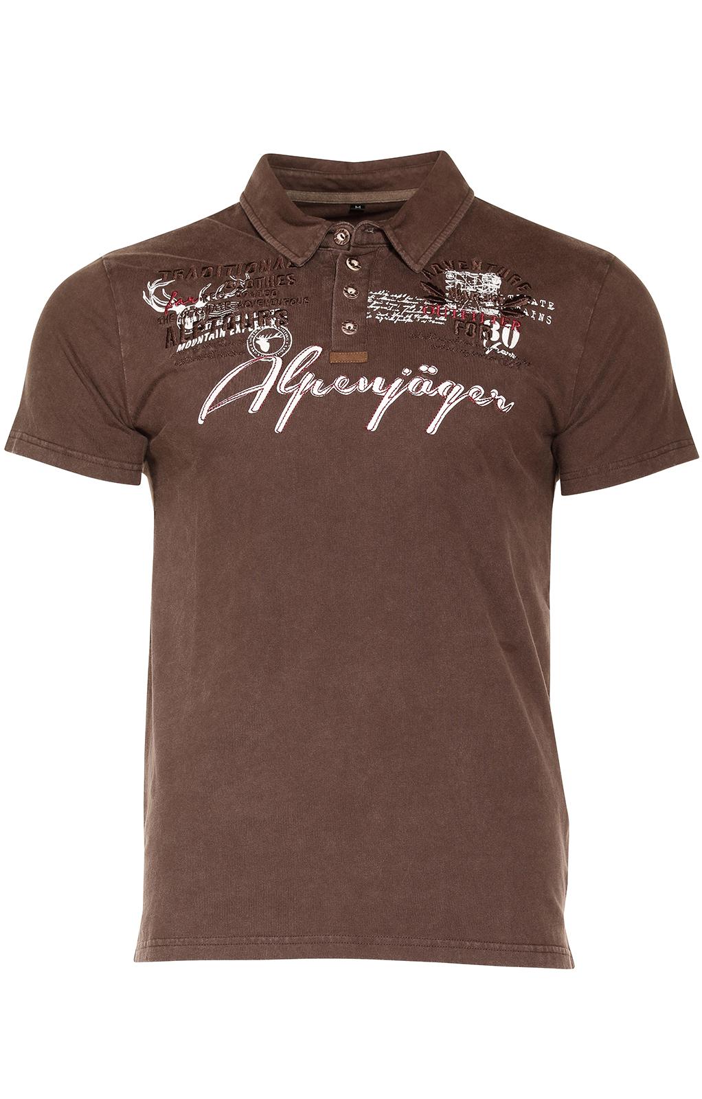 weitere Bilder von Kostuums T-shirt E09 - ALPENJAEGER bruin