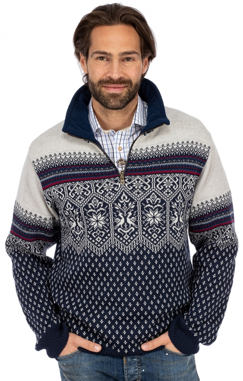 Norweger Pullover SEBASTJAN dunkelblau