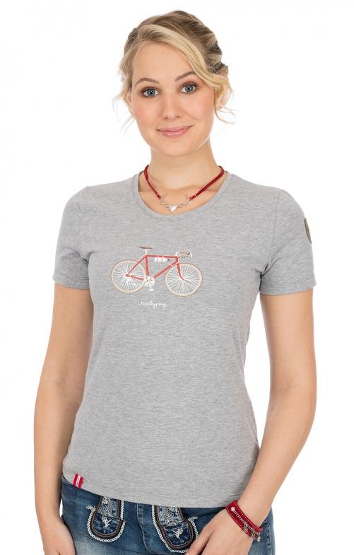 T-Shirt RESSEGGERALM grau