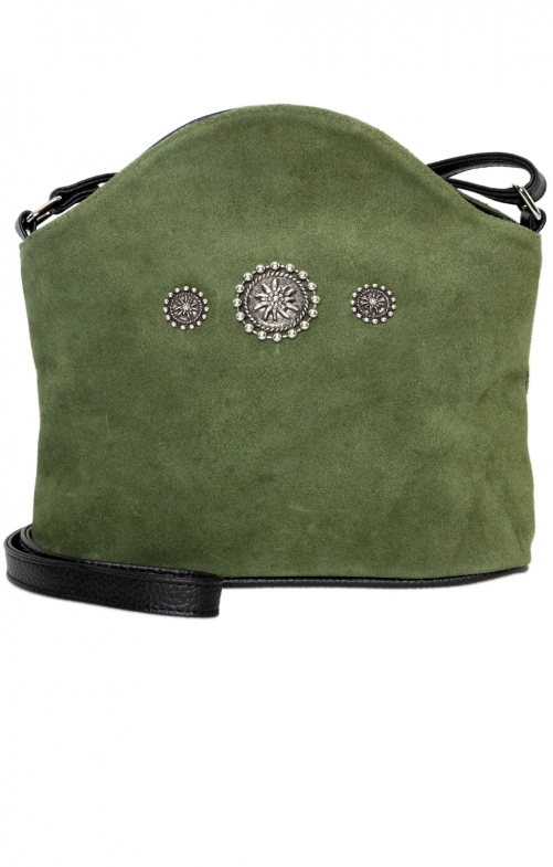 Traditional bag Edelweiss oliv