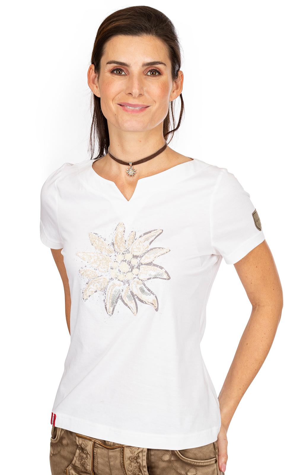 weitere Bilder von T-Shirt STRASSERALM white