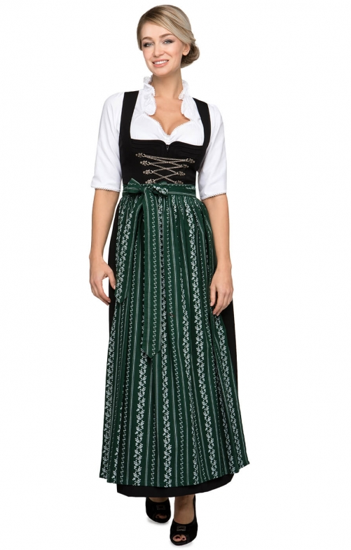 Dirndl long 96cm 1pc. AMBER SC195 fir