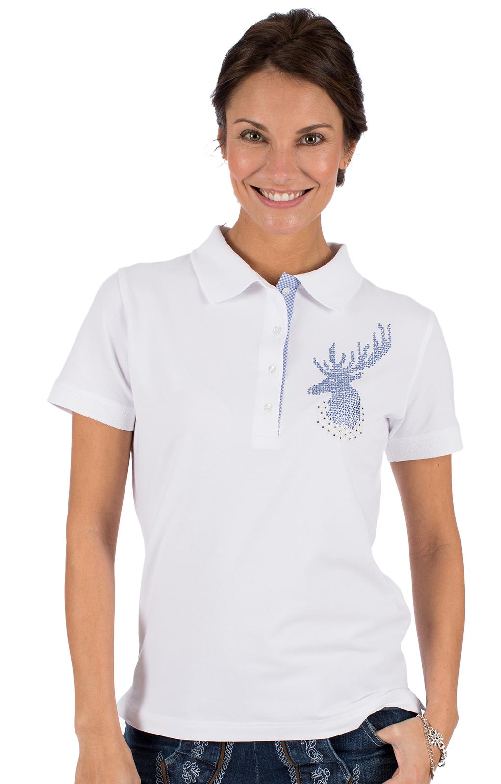 Maglietta tradizionale SENTA bianco von OS-Trachten