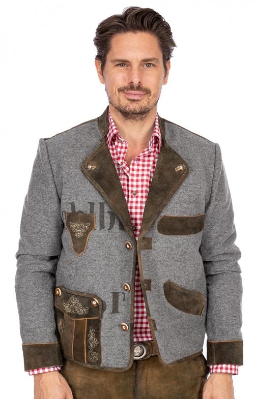 Trachten Jackets XAVER gray