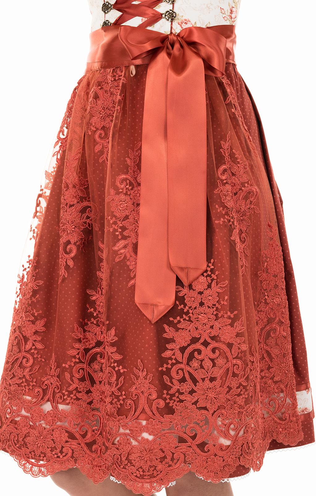 weitere Bilder von Mididirndl 65cm 2pz. bianco rosa