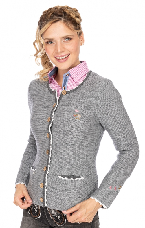 Traditional Jackets MOSEL light gray