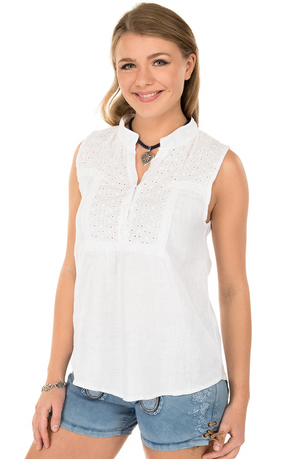 Traditional blouse MELINA-Twhite von Hangowear