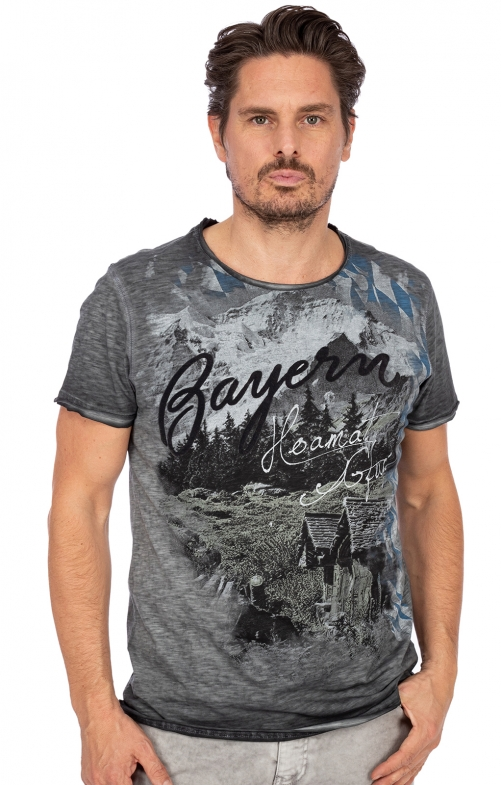 T-Shirt SALVATOR grau