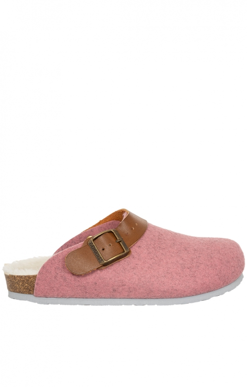 Traditional SlipperG102998 SHETLAND pink