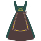 The Dirndl aprons - indispensable piece of clothing