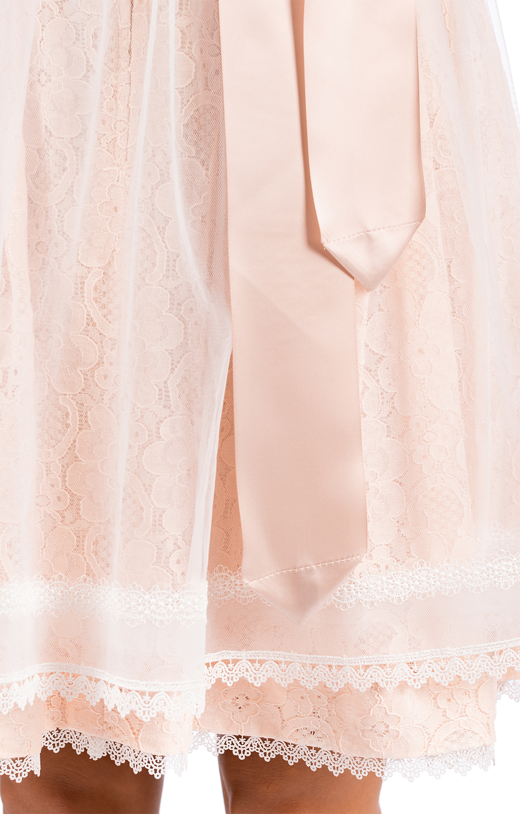 weitere Bilder von Mini Dirndl 2pz. 50 cm VRONI rosa