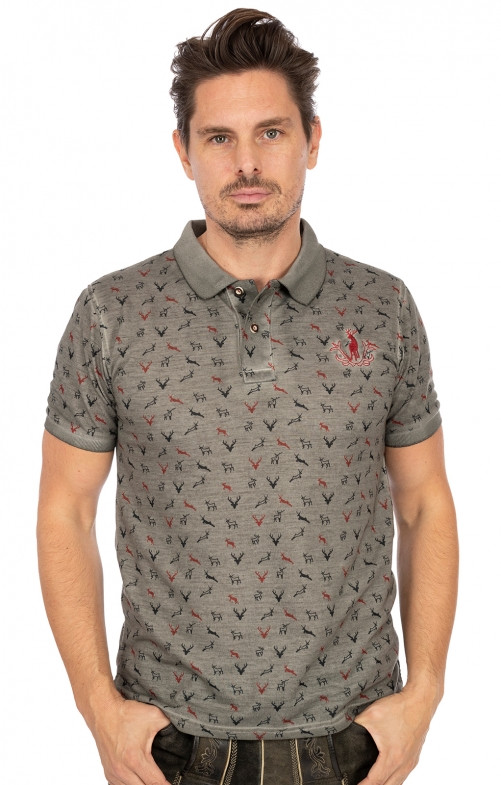 Poloshirt FINLEY BPoly grau