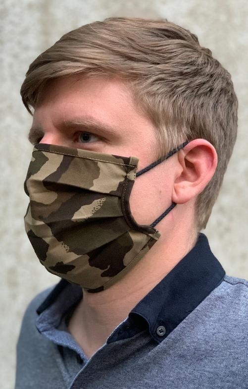 Maschera di tessuto 1536-57 camouflage