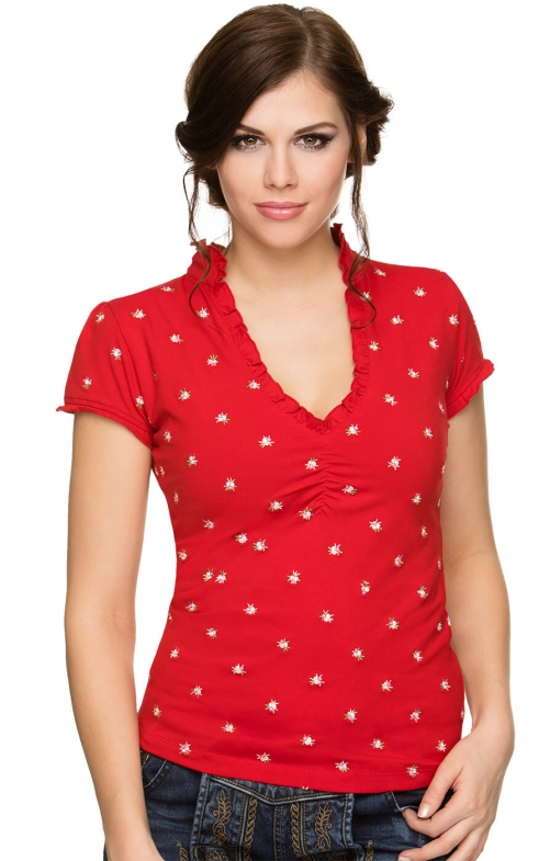 Traditional T-Shirt TEA red