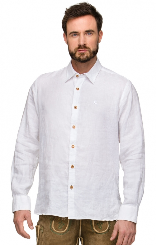 German traditional shirt VINCENT white