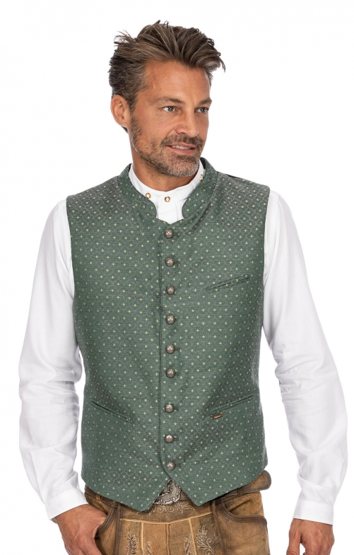 Tradition vest MARC green