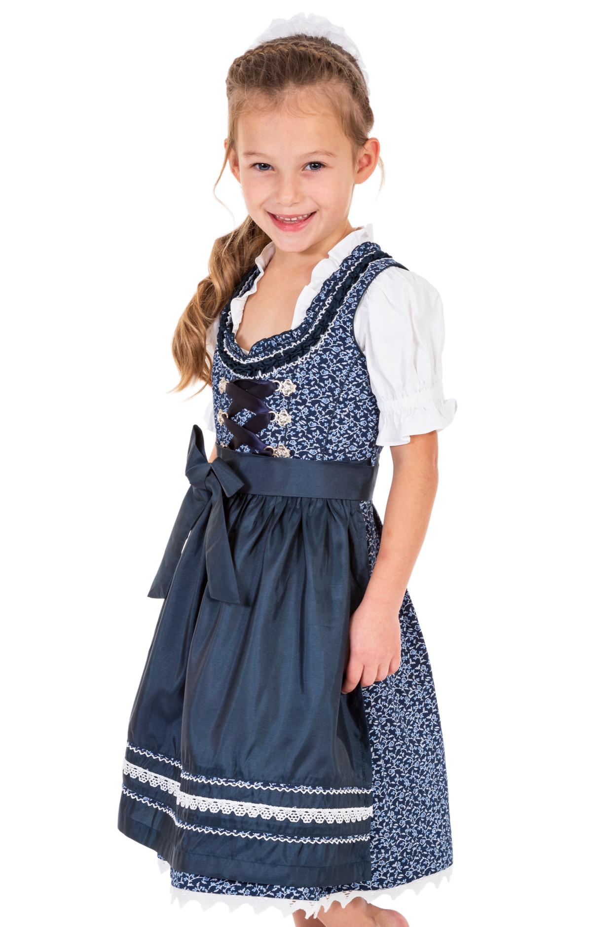weitere Bilder von Traditional Children dirndl DOMENICA-KIDS blue