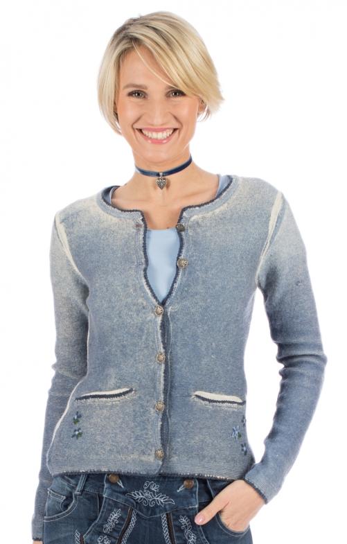 Traditional Cardigan KIANA SJ blue