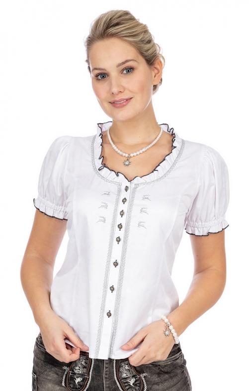 Camicetta tradizionale TESSY bianco