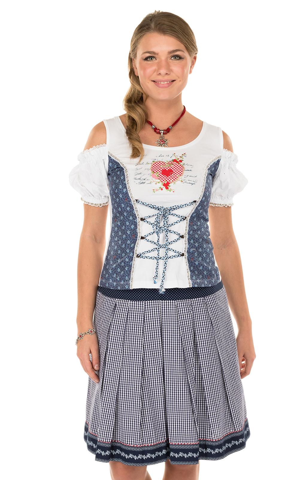 Traditional skirt blue von Marjo