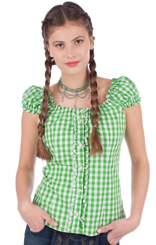 Trachten blouse Milena apple