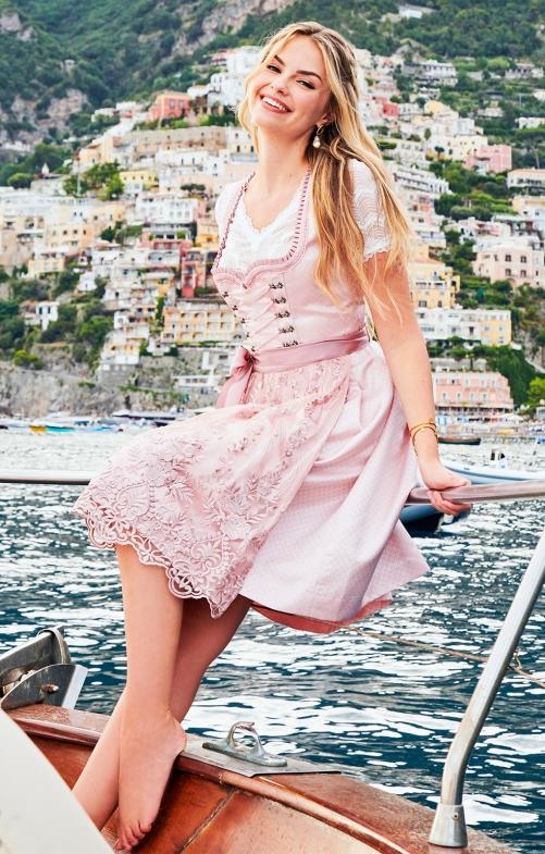 Dirndl & Dresses Mini 2pcs. 50cm TOKIO by xLaeta pink