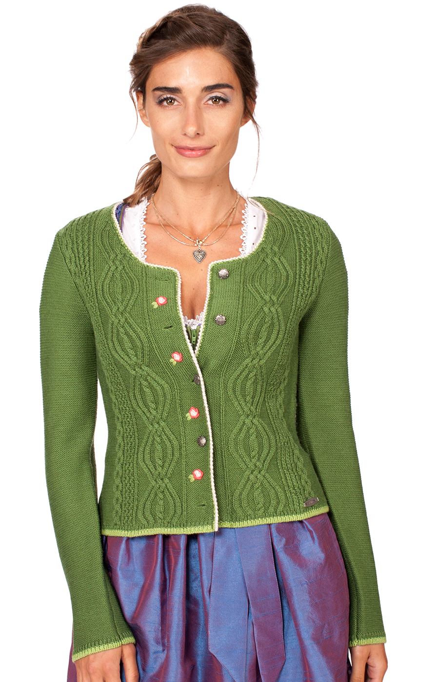 Traditional Cardigan Fancy green von Spieth & Wensky