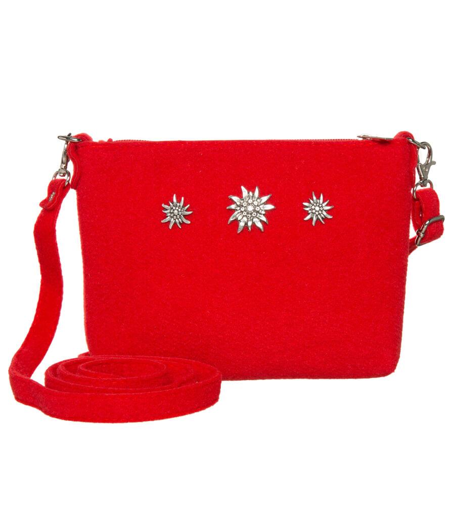 Tiroler Handtassen TA22590-3EDW rood von Schuhmacher