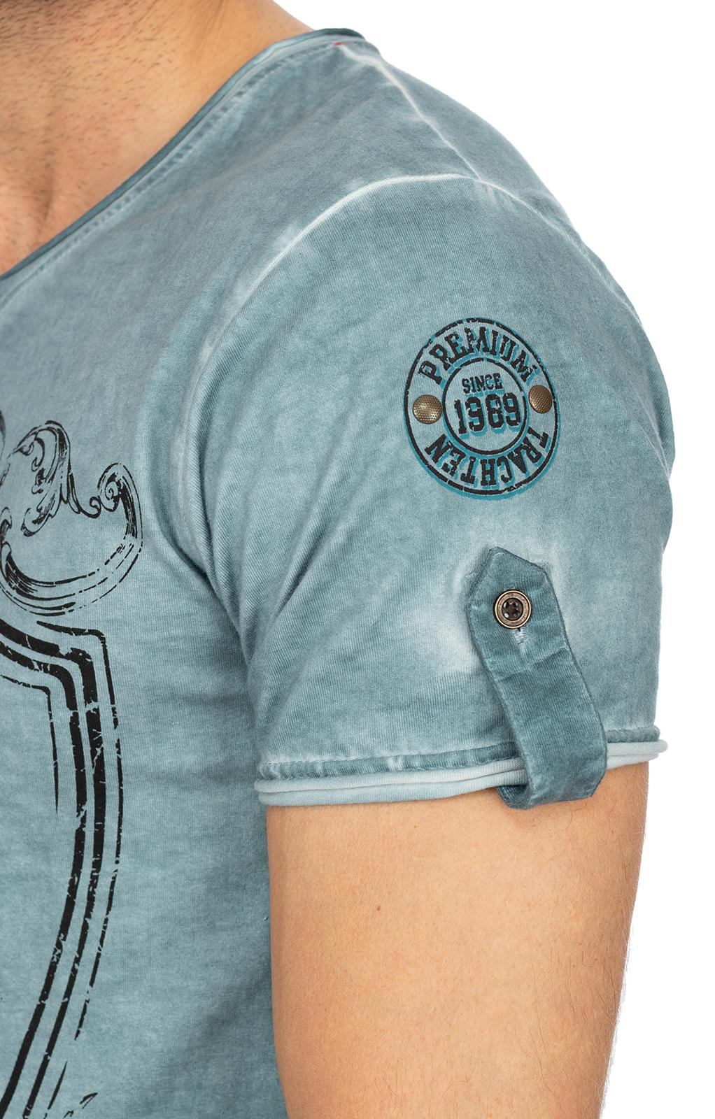 weitere Bilder von T-Shirt E55 - ERNST blau