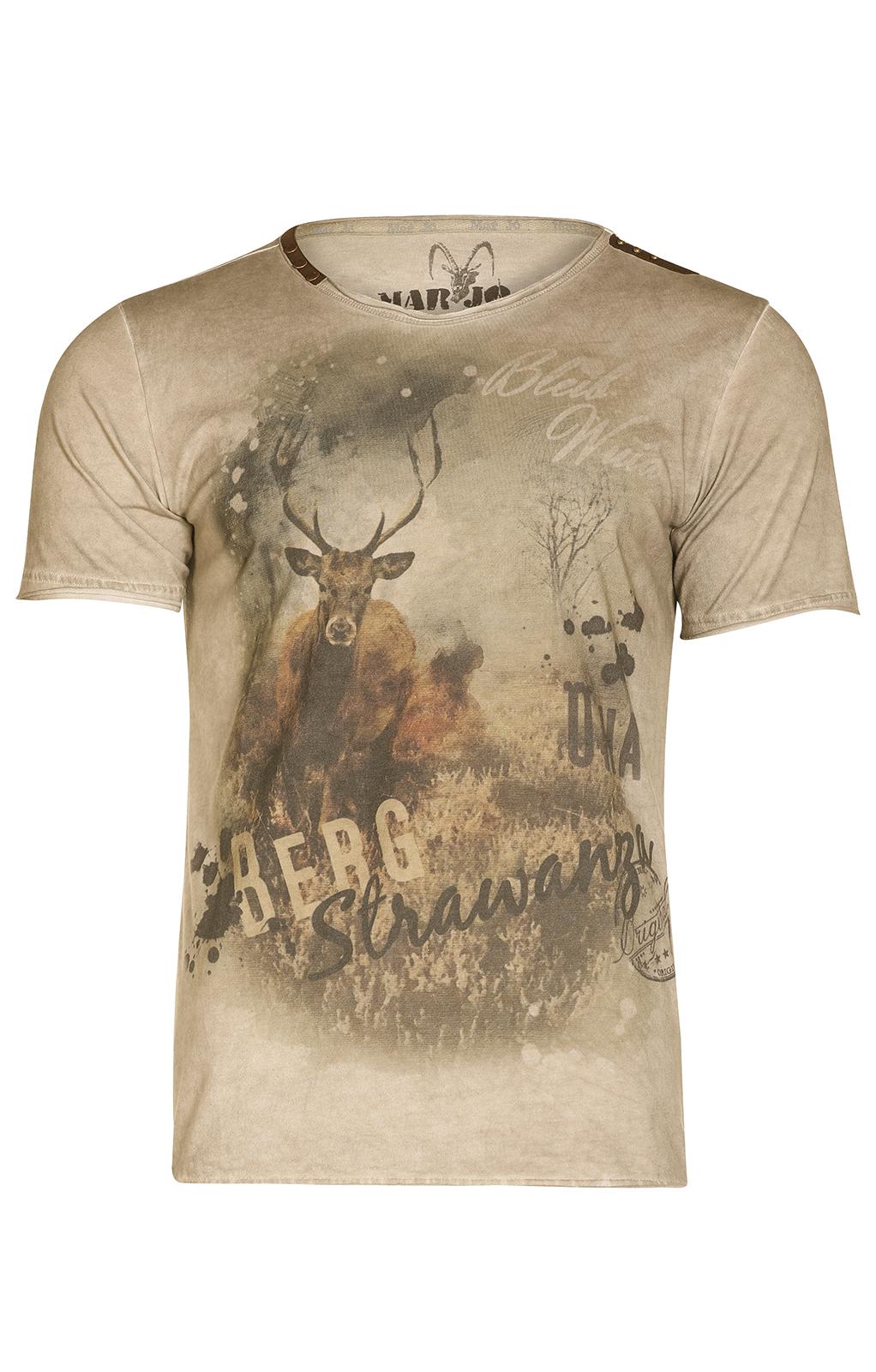 weitere Bilder von Trachten T-Shirt BERGSTRAWANZA braun