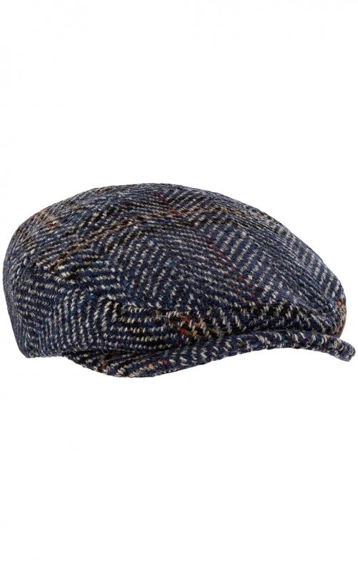 Flatcap 54012 blau