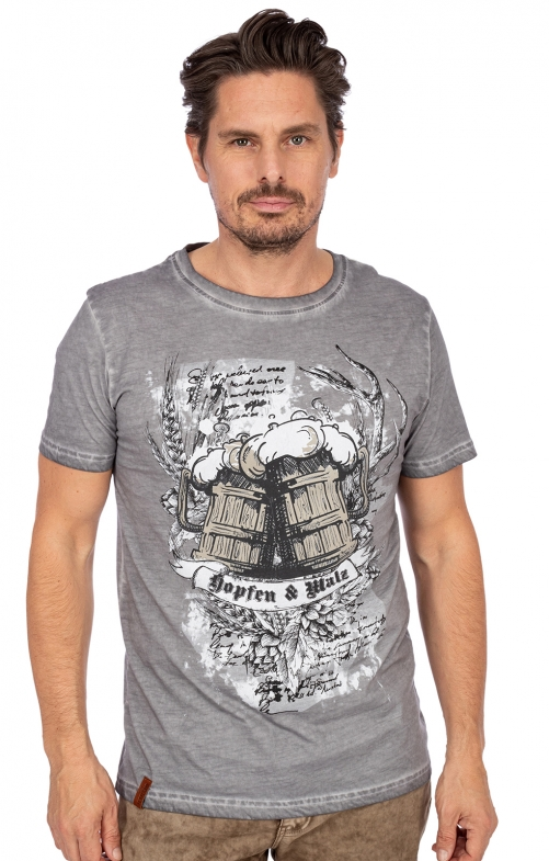 T-Shirt KALLE forest grey
