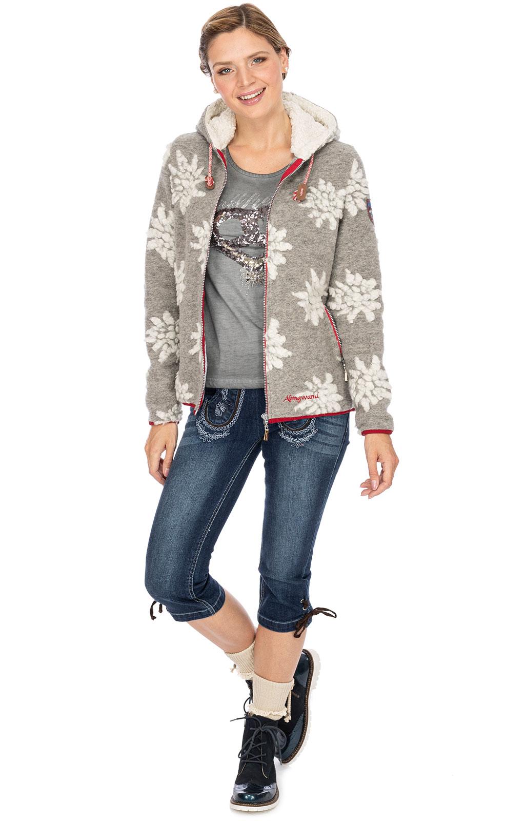 weitere Bilder von Giacca in maglia WILDENKOGEL grigio