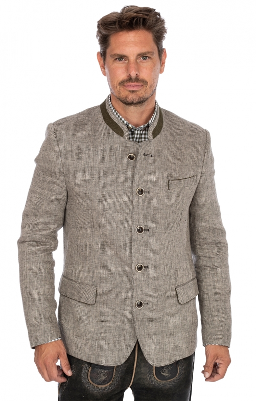 German traditional jacket MARCEL gray